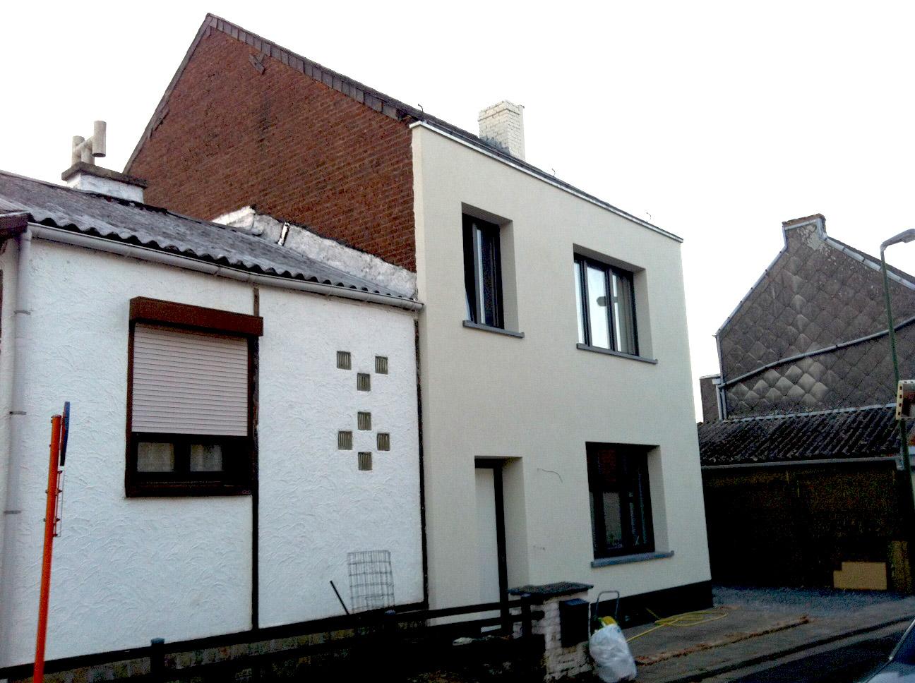 Entreprise d isolation et r novation de fa ade hainaut for Entreprise renovation facade