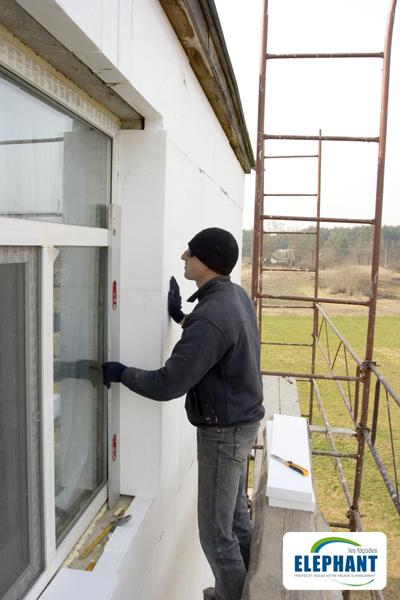 Isolation de façade par l'extérieur